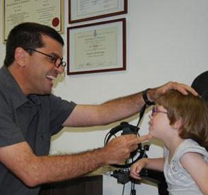 רופא עיניים ילדים - בדיקת ראייה