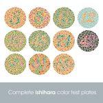 מבחן אישיהרה - עיוורון צבעים