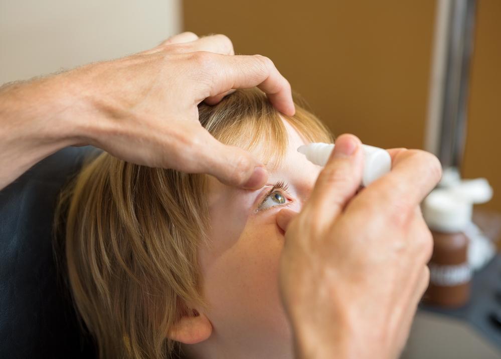 טיפות אטרופין לטיפול בקוצר ראייה